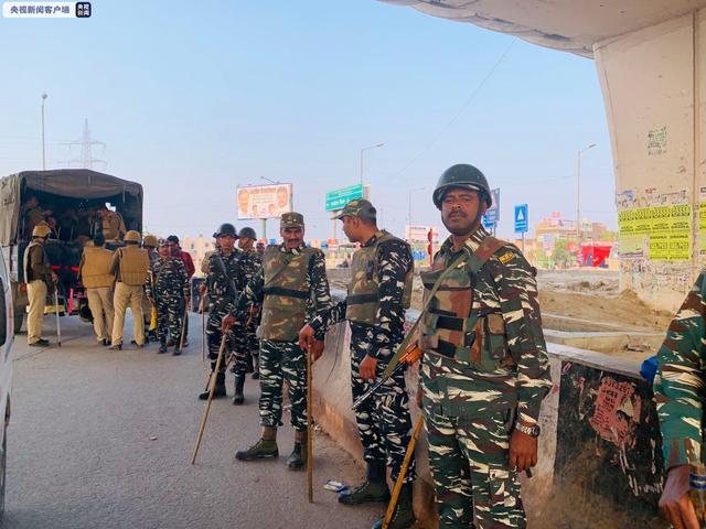 印度最大中央武装警察部队9人确诊新冠肺炎 47人隔离