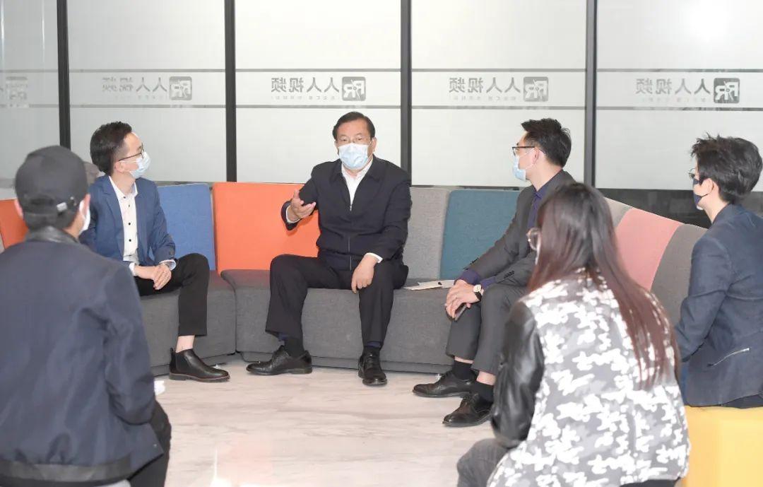 王忠林调研稳就业工作并与青年创业者座谈:多渠道促进就业创业 努力克服疫情不利影响图片