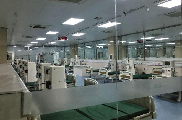 2019年5月29日,东台市中医院新建的血透室。新京报记者王嘉宁 摄