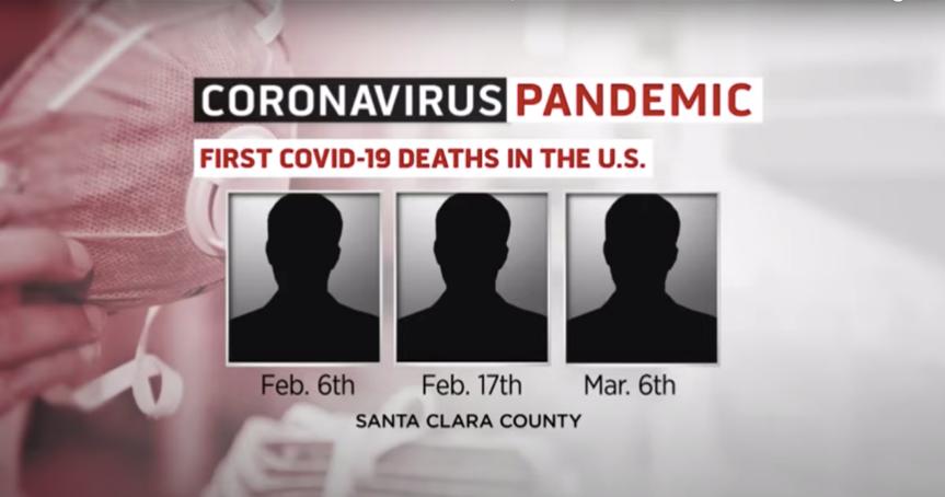 △三名通过解剖确认感染新冠肺炎病患的死亡时间