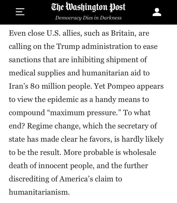 《华盛顿邮报》文章 截图