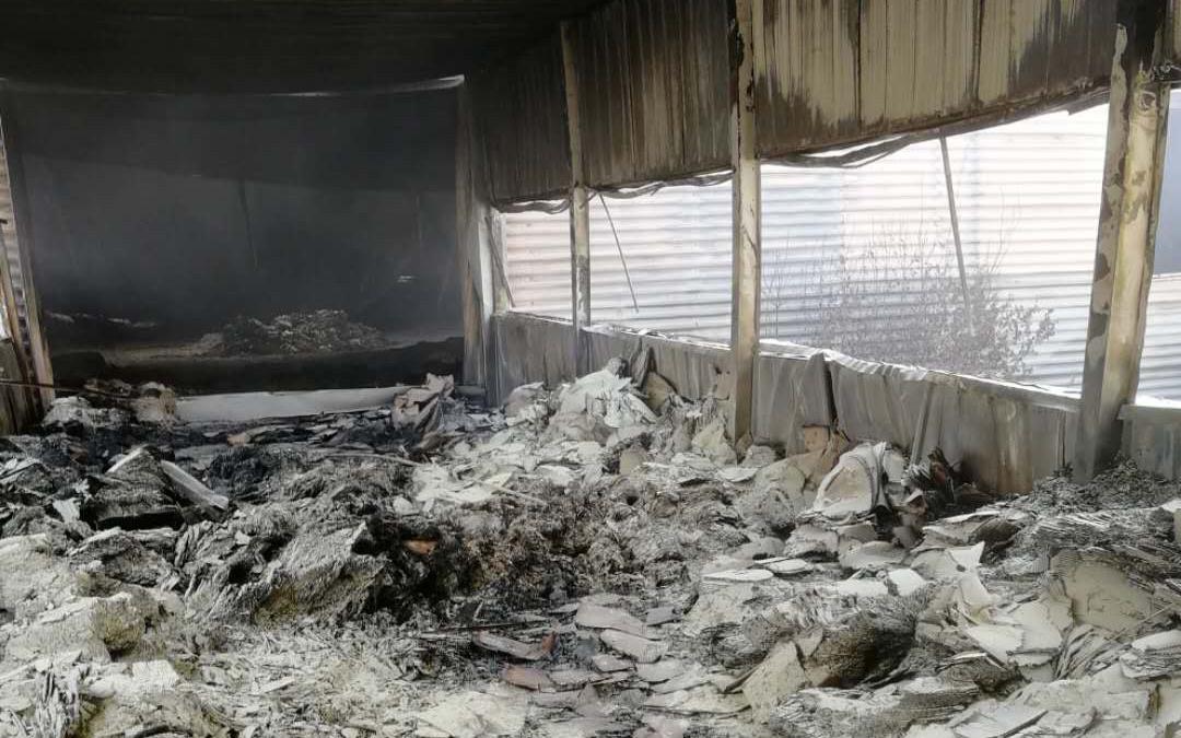 摩天招商,起火目击者称厂区摩天招商两处图片