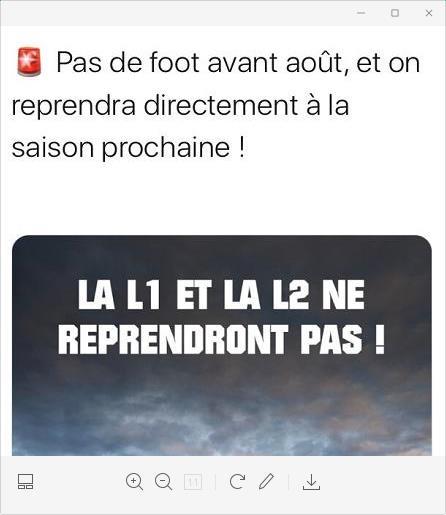 据外媒报道,本赛季法国足球联赛将不会重启