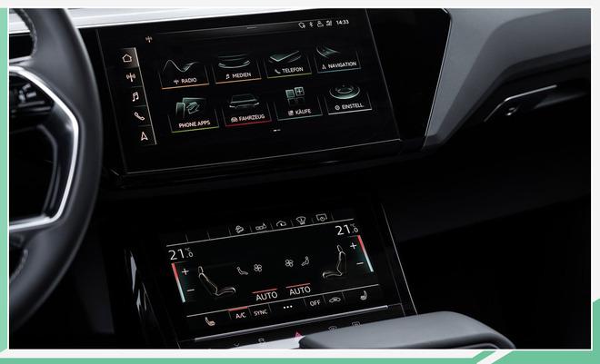 奥迪轿跑SUV官图发布 续航446km/将年内入华