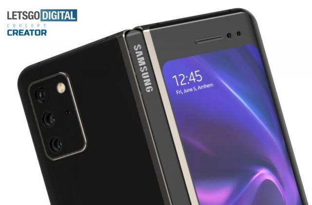 三星Galaxy Note Fold渲染:这样的折叠机你想买吗?