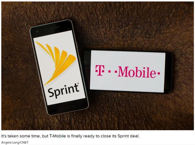 美国无线运营商巨头T-Mobile和Sprint完成合并 加速5G布局