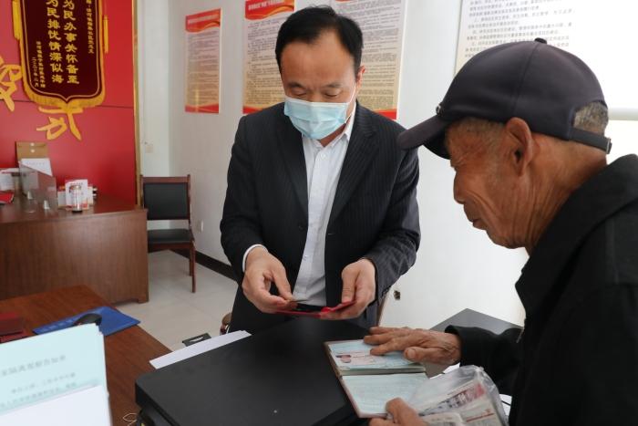 """惠民县清河镇:""""一人一档""""打通服务退役军人工作""""最后一公里"""""""