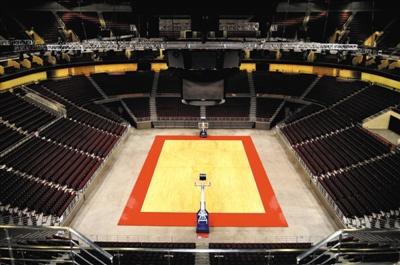 北京五棵松体育馆改造 将作为冬奥会冰球比赛场馆图片