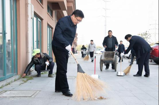 南京高淳:爱卫同行干群合力 积极开展爱国卫生月活动图片