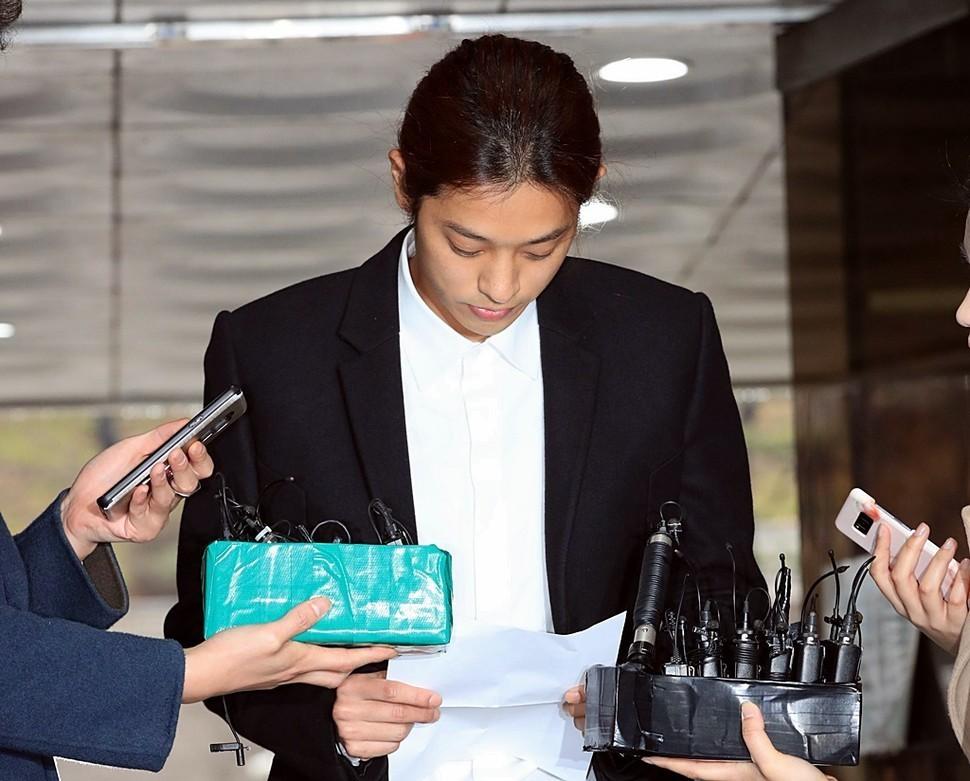 被判刑六年后 韩星郑俊英再因性交易罚款100万韩元