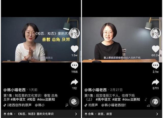 《甄嬛传》究竟藏了多少高考语文知识点?女老师向100万粉丝力挺短视频学习