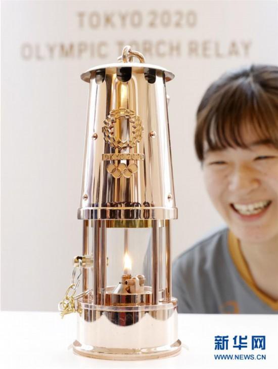 组图:东京奥运圣火火种在日本福岛县展览