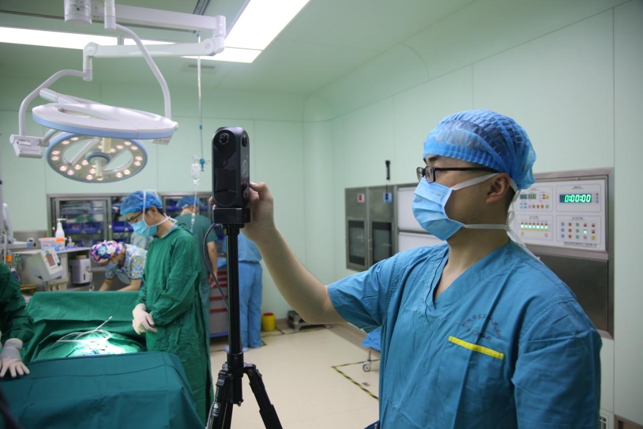 聊城首例5G+VR手术直播完成 第一视角带您体验手术全过程