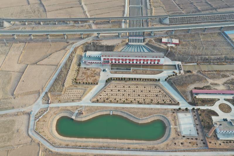 宁夏中部干旱带核心区扬水春灌拉开序幕