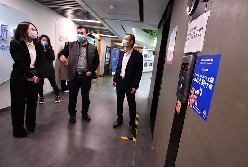 国内首款AI语音控制电梯已安装使用超百台图片