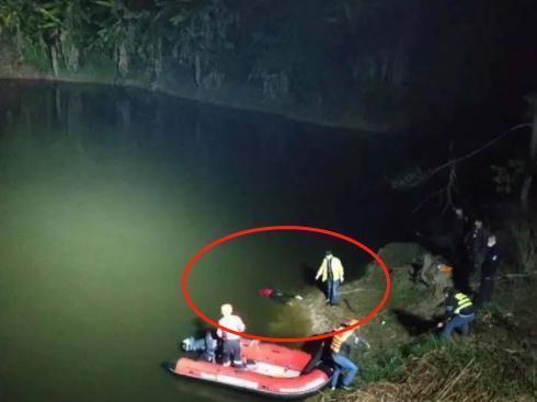 梅州一女子跌入山塘,不幸溺水身亡!
