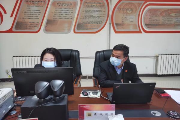 宁夏固原市原州区法院:院长主持调解 化解劳务纠纷