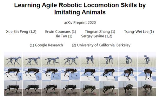 """""""国产莱卡狗""""走进谷歌AI Lab, 强化学习算法让机器狗漫步溜达似真狗"""