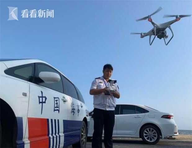 三亚海事局使用无人机监管外籍船舶进出港