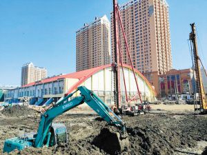 哈尔滨市冰球馆改扩建工程开工