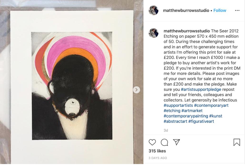 艺术家发起互买行动 共同度过疫情下的经济危机图片