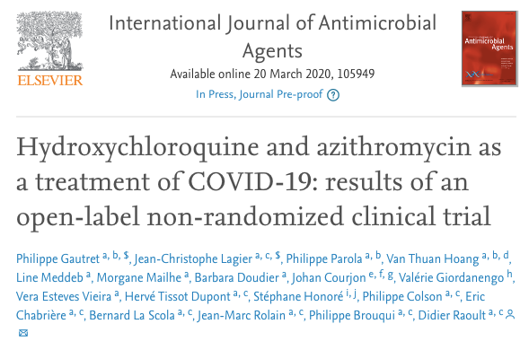 哈乌尔特在《国际抗菌剂期刊》上发表论文。