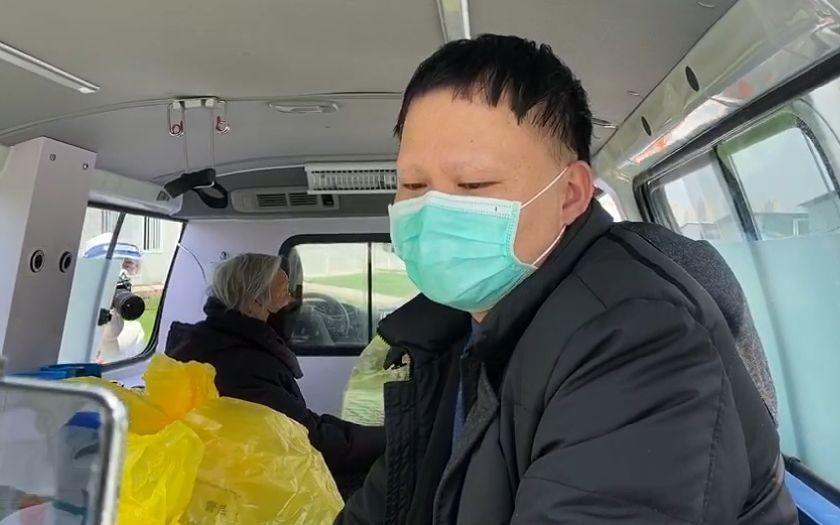 雷神山医院C3病区清零关闭,出院患者感慨把命捡回来了图片
