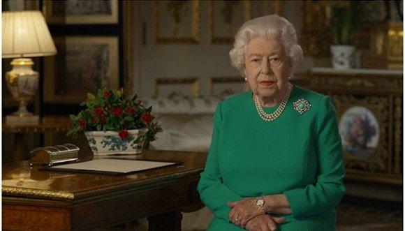 英女王全国讲话鼓舞民心:好时光必将回归,胜利属于所有人