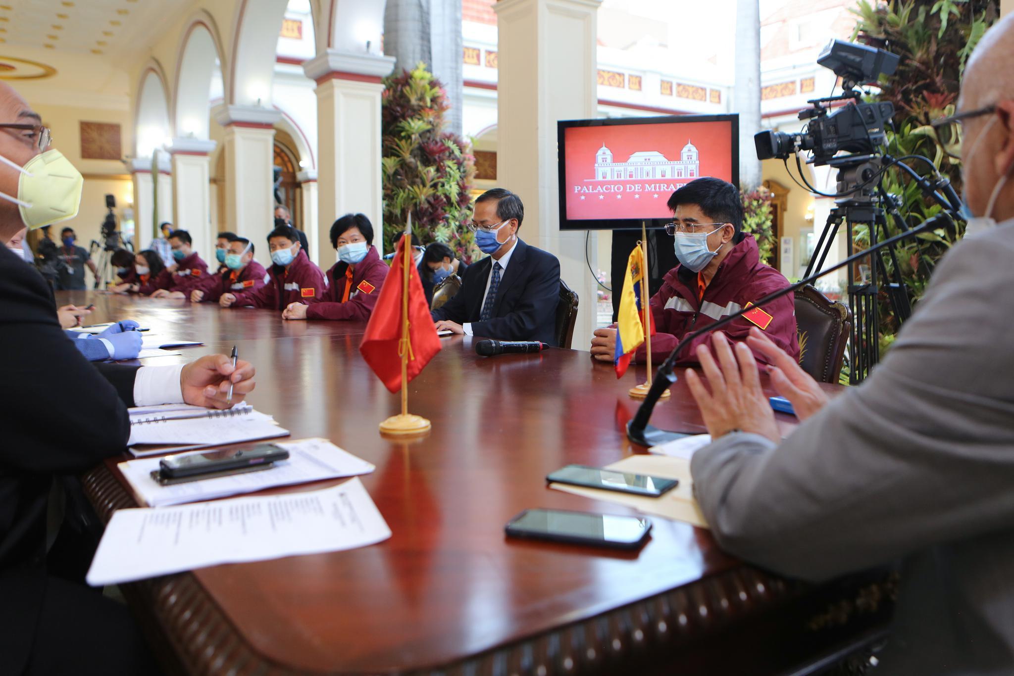 独家 | 中国专家组:委内瑞拉借鉴中国抗疫模式取得积极成效