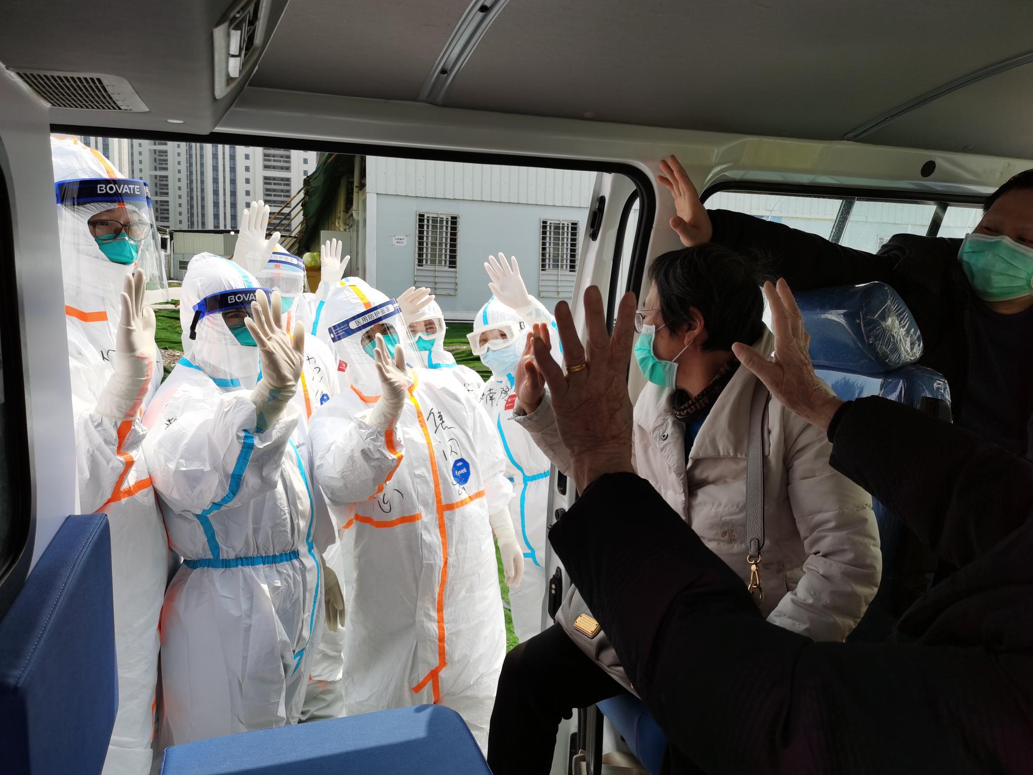 雷神山第三批国家医疗队今日返程,全医院还剩47名患者
