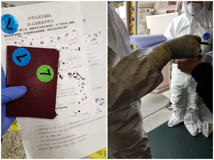 """3个检疫标签、4张健康申报表、6次体温测试和17小时中转:海外留学生的""""流浪地球"""""""