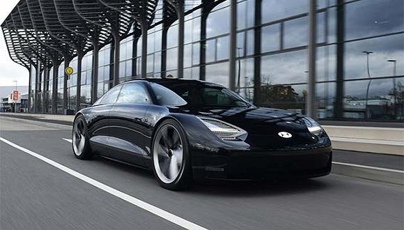 """这款名叫""""预言""""的概念车揭示了现代汽车未来电动车理念"""
