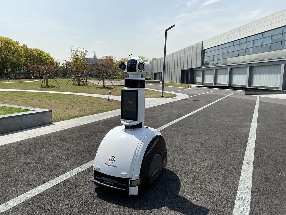 消毒灭菌机器人将在上海马桥人工