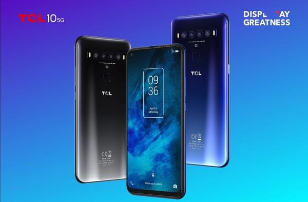 首款主打性价比5G手机 TCL通讯发TCL 10系列智能机