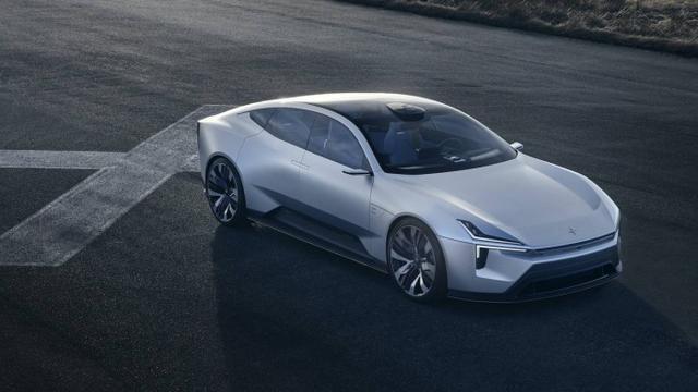 Polestar发布概念车Precept:绿色科技/Android内脏