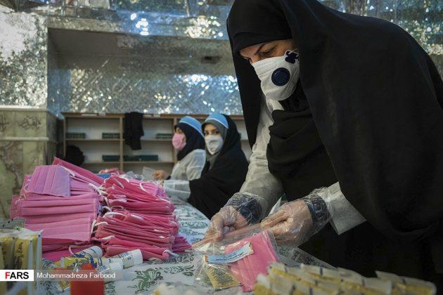伊朗将什叶派圣地改为临时口罩生产点