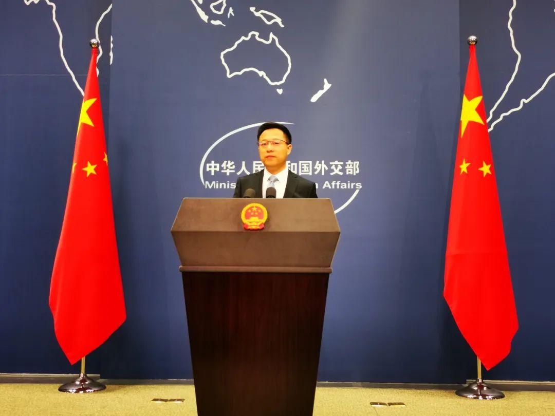 时隔一个月再主持记者会,赵立坚回应了三个质疑图片