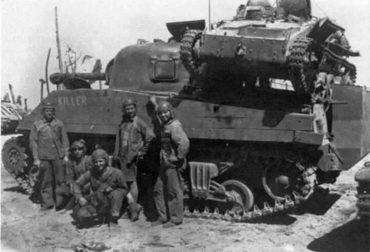 谢尔曼坦克:对日军作战让我找到了当虎式的感觉