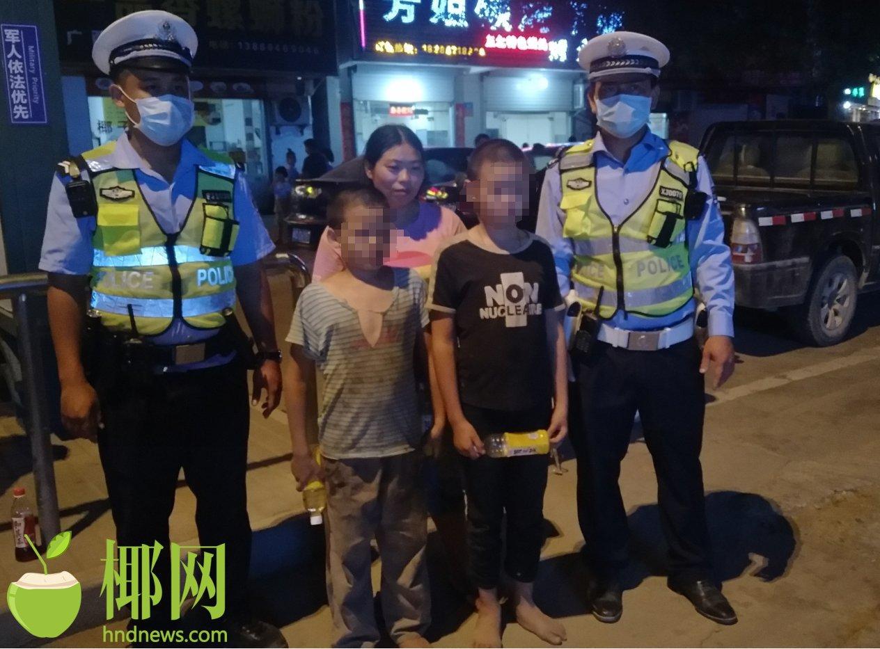 2男孩夜间在家门口玩耍突然不见踪影,女子慌忙哭喊求助三亚路管员……
