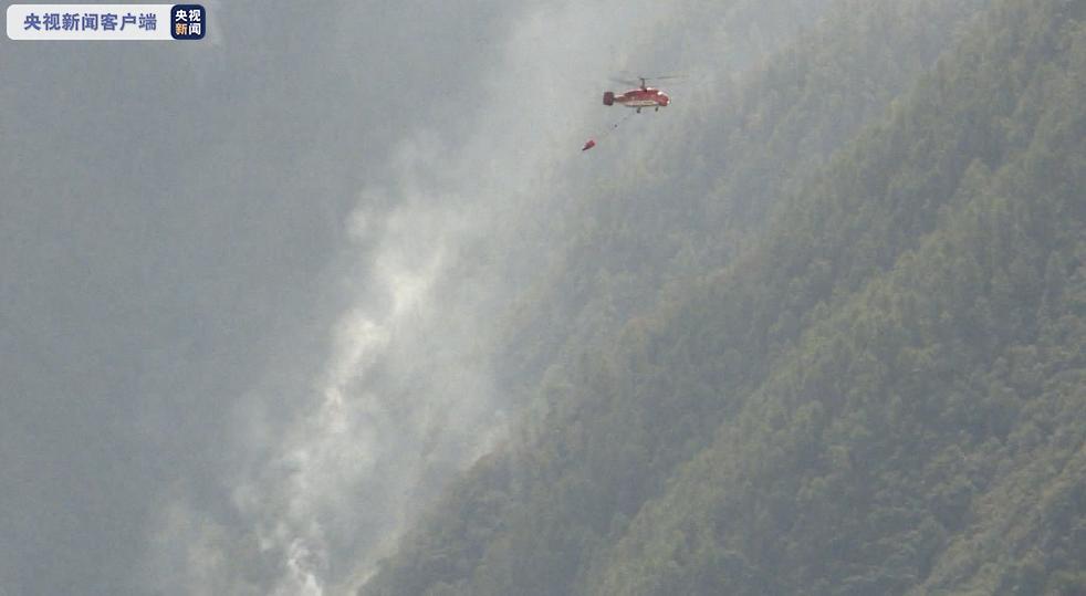 四川甘孜州九龙县森林火灾已成功扑灭 全线转入清理看守