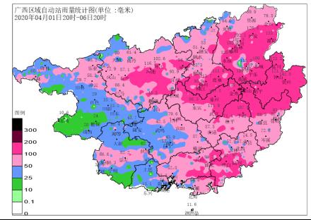 持续强降雨过程已结束 未来三天广西各地气温回升