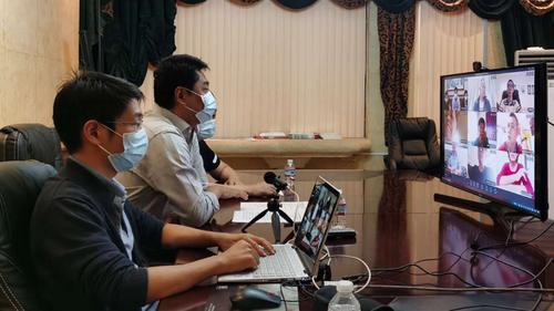 驻哥斯达黎加使馆召开侨胞和领事协助志愿者防疫视频会