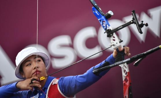 全球射箭赛事停摆,中国射箭队奥运满额无忧图片