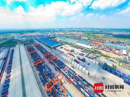 今年首次突破百万大关!成都青白江跨境电商交易量同比增长近21倍