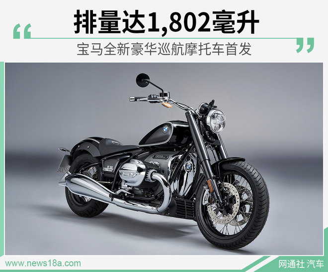 宝马全新巡航摩托车首发 第四季度国内上市