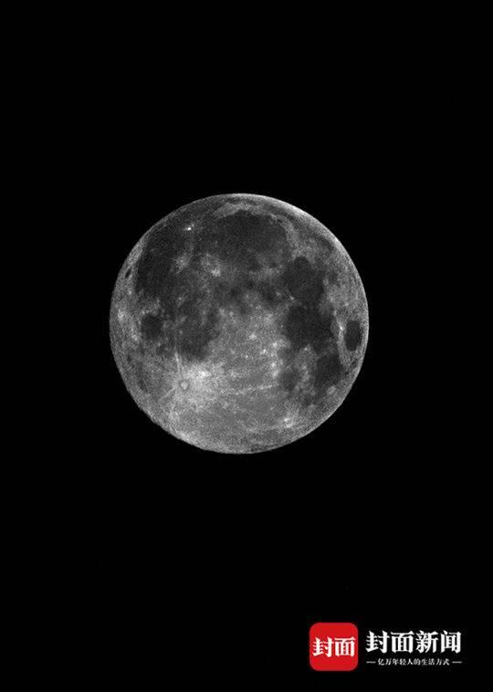 """4月8日凌晨3时 今年最大的""""超级月亮""""悄悄现身蓉城"""