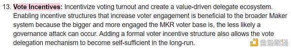 Maker去中心化治理改革「彩蛋」:合成资产、储备金库和投票激励 金色财经