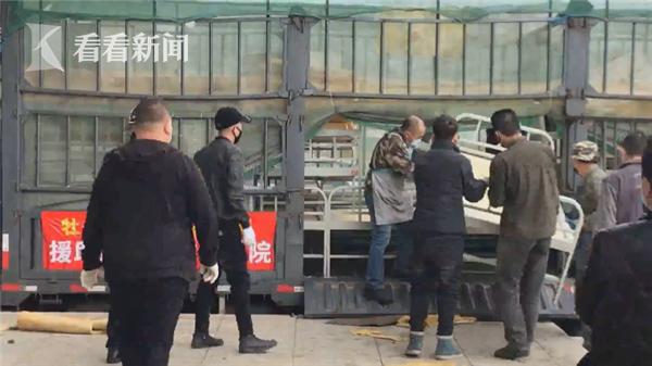 视频|直击绥芬河市改建方舱医院内部 预计4月11日启用图片