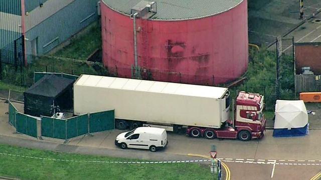 英国货车惨案司机承认过失杀害39名越南移民