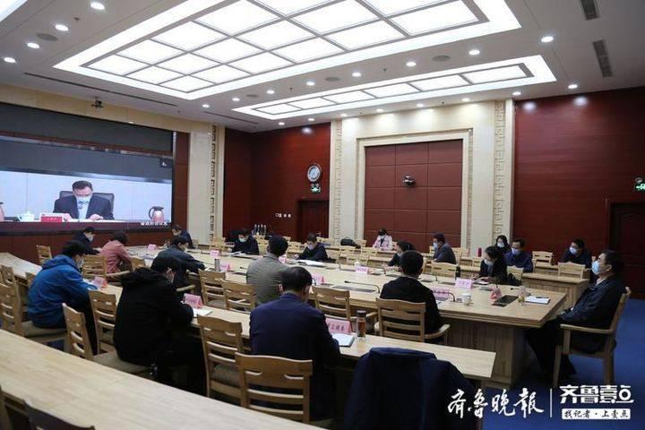 滨州市组织收看第 22 届中国科协年会组织委员会工作会议
